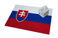 Small house on a flag - Slovakia