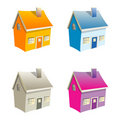 Small  houses Stock Photo