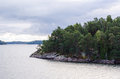 Small island of aland close to mariehamn Royalty Free Stock Image
