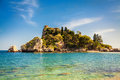 Small island Isola Bella Royalty Free Stock Photo