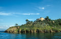 Small island of port cros cote azur france Royalty Free Stock Image