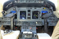 Small jet instrument panel Royalty Free Stock Photo