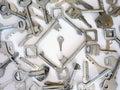 Small key Royalty Free Stock Photo