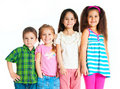 Small kids Royalty Free Stock Photography