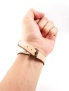 Small leather band Royalty Free Stock Photos
