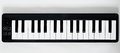Small MIDI keyboard Royalty Free Stock Photo