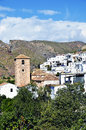 Small Moorish village in La Alpujarra Royalty Free Stock Photos