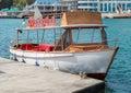 Small motor boat Royalty Free Stock Photo