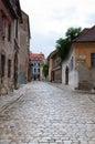 Small old street in Bratislava