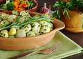 Small Potatoes with Rosemary Stock Image