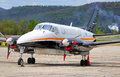 Small prop plane Royalty Free Stock Photo