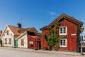 Small residential houses Royalty Free Stock Photo