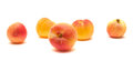 Small ripe apricots Stock Photos