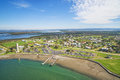 Small rural fishing port in Australia Royalty Free Stock Photo