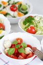 Small salads Royalty Free Stock Photography