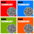 Small scale nano or technology Royalty Free Stock Image