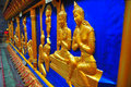 Small Sculptures of Buddhas Royalty Free Stock Image