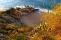 Small snug beach,Spain Royalty Free Stock Photo