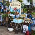 Small souvenir shop with hundreds of keepsakes. Royalty Free Stock Photo