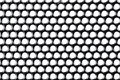 Small speaker grille texture with white background Royalty Free Stock Photo