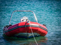 Small speedboat Royalty Free Stock Photo
