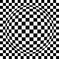 Small spherized squared pattern Stock Photography
