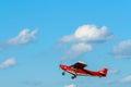 Small sport plane Royalty Free Stock Photo