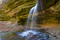 Small stream in LaSalle Canyon Stock Images