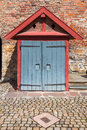 Small Structure inside Akershus Fort Royalty Free Stock Photo