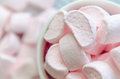 Small sugar candy marshmallow  in the cup Royalty Free Stock Photo
