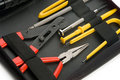 Small toolkit in a case Royalty Free Stock Photo