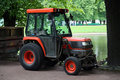 Small tractor Royalty Free Stock Photo