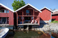 Small vacation home in Sweden Stock Images