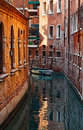 Small Venetian Canal Royalty Free Stock Photo
