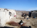 Small village in Afghanistan Royalty Free Stock Images