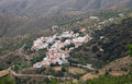 Small village in Andalusia Spain Royalty Free Stock Images