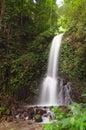 Small waterfall in jungle near lake maninjau west sumatra indonesia Stock Photos