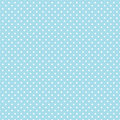 Small White Polka dots on Pastel Aqua Royalty Free Stock Photos