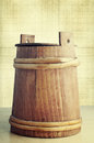 Small wooden barrel Royalty Free Stock Photos