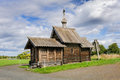 Small wooden church at Kizhi Royalty Free Stock Photo