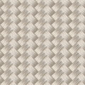 Small woven white cane fiber seamless pattern Stock Photography