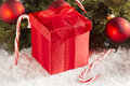 Small Wrapped Christmas Presents Royalty Free Stock Images