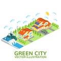 Smart city design.