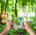 Smart Device Augmented Reality in Nature