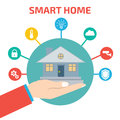 Smart House Technology. Vector...