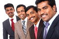A smart Indian business team Stock Photos