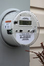 Smart Meter Royalty Free Stock Image
