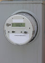 Smart Meter Box Stock Photo