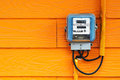 An Smart Meter in soft light Royalty Free Stock Photo
