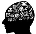 Smart mind Royalty Free Stock Photo
